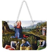 Jesus: Agony In The Garden Weekender Tote Bag