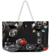 Jewellery Still Life Weekender Tote Bag