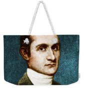 John Jay, American Founding Father Weekender Tote Bag