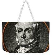 John Quincy Adams, 6th American Weekender Tote Bag