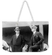 Johnson & Ruth, 1922 Weekender Tote Bag