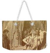 Judgment Of Solomon Weekender Tote Bag