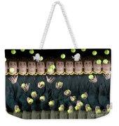 Juggler Weekender Tote Bag by Ted Kinsman