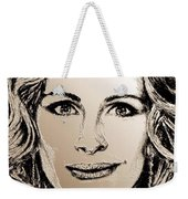 Julia Roberts In 2008 Weekender Tote Bag