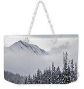 Kananaskis Country In Winter, Peter Weekender Tote Bag