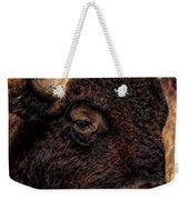 Kansas Buffalo Weekender Tote Bag