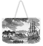 King Georges War, 1745 Weekender Tote Bag