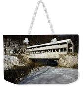 Knox Covered Bridge Weekender Tote Bag