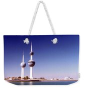 Kuwait Towers Weekender Tote Bag