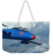 L-29 Delfin Standard Jet Trainer Weekender Tote Bag