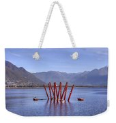 Lake Maggiore Locarno Weekender Tote Bag by Joana Kruse