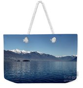 Lake With Snow-capped Mountain Weekender Tote Bag