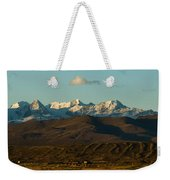 Landscape Of The Highlands And The Cordillera Real. Republic Of Bolivia. Weekender Tote Bag