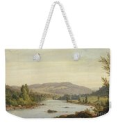 Landscape With River Weekender Tote Bag