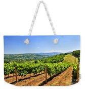 Landscape With Vineyard Weekender Tote Bag