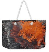 Lava Bursting At Edge Of Active Lava Weekender Tote Bag