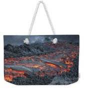Lava Flow On The Flank Of Pacaya Weekender Tote Bag