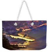 Layered Clouds Weekender Tote Bag