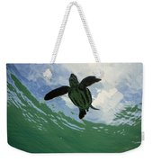 Leatherback Sea Turtle Dermochelys Weekender Tote Bag