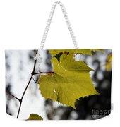 Leaves Of Wine Grape Weekender Tote Bag