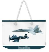 Legacy Of Flight Weekender Tote Bag