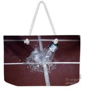 Light Bulb Smashing Weekender Tote Bag