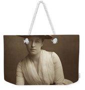 Lillie Langtry (1852-1929) Weekender Tote Bag
