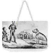 Lincoln: Cartoon, 1864 Weekender Tote Bag