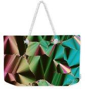 Liquid Crystalline Dna Weekender Tote Bag