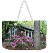 Little Brown Church In Spring Weekender Tote Bag