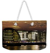 London City Hall At Night Weekender Tote Bag