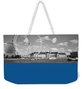 London Eye And County Hall Weekender Tote Bag