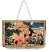 London: Gordon Riots, 1780 Weekender Tote Bag