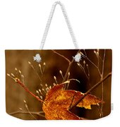 Lonely Leaf Weekender Tote Bag