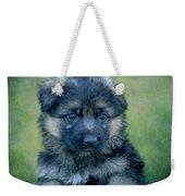 Long Coated Puppy Weekender Tote Bag
