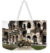 love locks in Rome Weekender Tote Bag