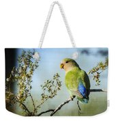 Lovebird  Weekender Tote Bag
