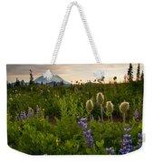 Lupine Sunset Weekender Tote Bag