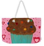 M And M Cupcake Weekender Tote Bag