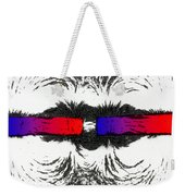 Magnetic Attraction Weekender Tote Bag