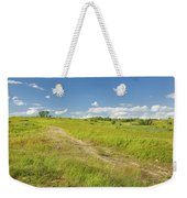 Maine Blueberry Field In Summer Weekender Tote Bag