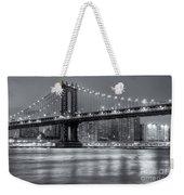 Manhattan Bridge II Weekender Tote Bag