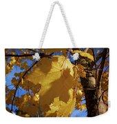 Maple In Fall Weekender Tote Bag