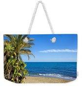 Marbella Beach In Spain Weekender Tote Bag