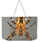 Marbled Orb Weaver Spider Weekender Tote Bag