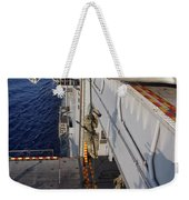 Marines And Sailors Fast-rope Weekender Tote Bag by Stocktrek Images