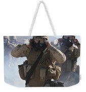 Marines And Sailors Participate In An Weekender Tote Bag