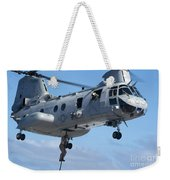 Marines Fast Rope From A Ch-46 Sea Weekender Tote Bag