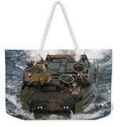 Marines Navigate An Amphibious Assault Weekender Tote Bag