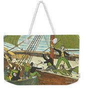 Mary Read And Anne Bonny, 18th Century Weekender Tote Bag by Photo Researchers